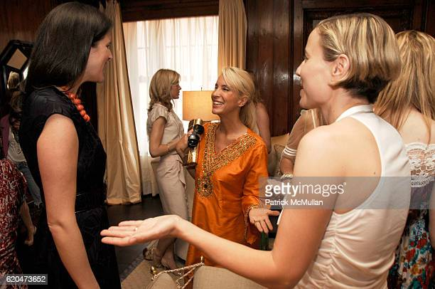 Lydia Fenet Tracy Stren and Carolina Zapf attend EMANUEL UNGARO Inivites you to Join DAYSSI OLARTE De KANAVOS and SUSAN SHIN for a Luncheon in Honor...