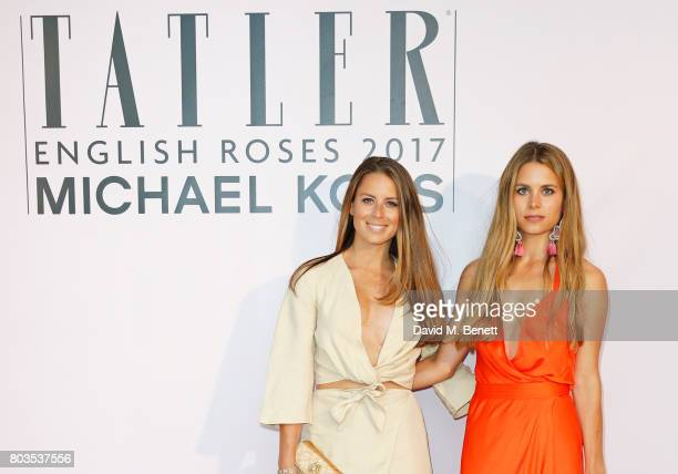 Lydia Forte and Irene Forte attend Tatler's English Roses 2017 in association with Michael Kors at the Saatchi Gallery on June 29 2017 in London...