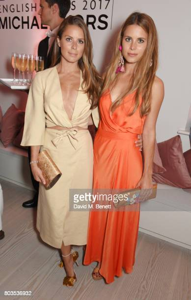 Lydia Forte and Irene Forte attend Tatler's English Roses an event celebrating up and coming British girls hosted by Kate Reardon and Michael Kors at...