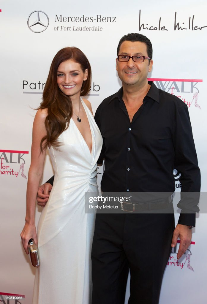 <a gi-track='captionPersonalityLinkClicked' href=/galleries/search?phrase=Lydia+Hearst&family=editorial&specificpeople=221723 ng-click='$event.stopPropagation()'>Lydia Hearst</a> and Patrick Taleb attends the Catwalk for Charity 2014 fundrasing event at JW Marriott Marquis on June 8, 2014 in Miami, Florida.