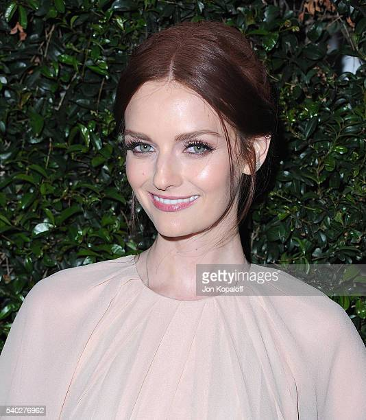 Lydia Hearst arrives at Max Mara Celebrates Natalie DormerThe 2016 Women In Film Max Mara Face Of The Future at Chateau Marmont on June 14 2016 in...