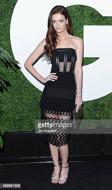 Lydia Hearst arrives at the 2014 GQ Men Of The Year Party at Chateau Marmont on December 4 2014 in Los Angeles California