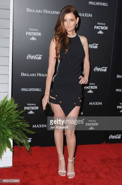 Lydia Hearst arrives at the MAXIM Hot 100 Celebration Event at Pacific Design Center on June 10 2014 in West Hollywood California