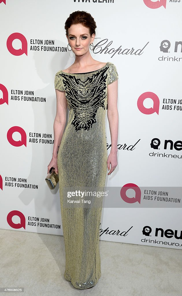 <a gi-track='captionPersonalityLinkClicked' href=/galleries/search?phrase=Lydia+Hearst&family=editorial&specificpeople=221723 ng-click='$event.stopPropagation()'>Lydia Hearst</a> arrives for the 22nd Annual Elton John AIDS Foundation's Oscar Viewing Party held at West Hollywood Park on March 2, 2014 in West Hollywood, California.