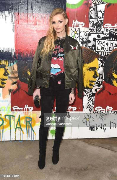 Lydia Hearst at the TommyLand Tommy Hilfiger Spring 2017 Fashion Show on February 8 2017 in Venice California