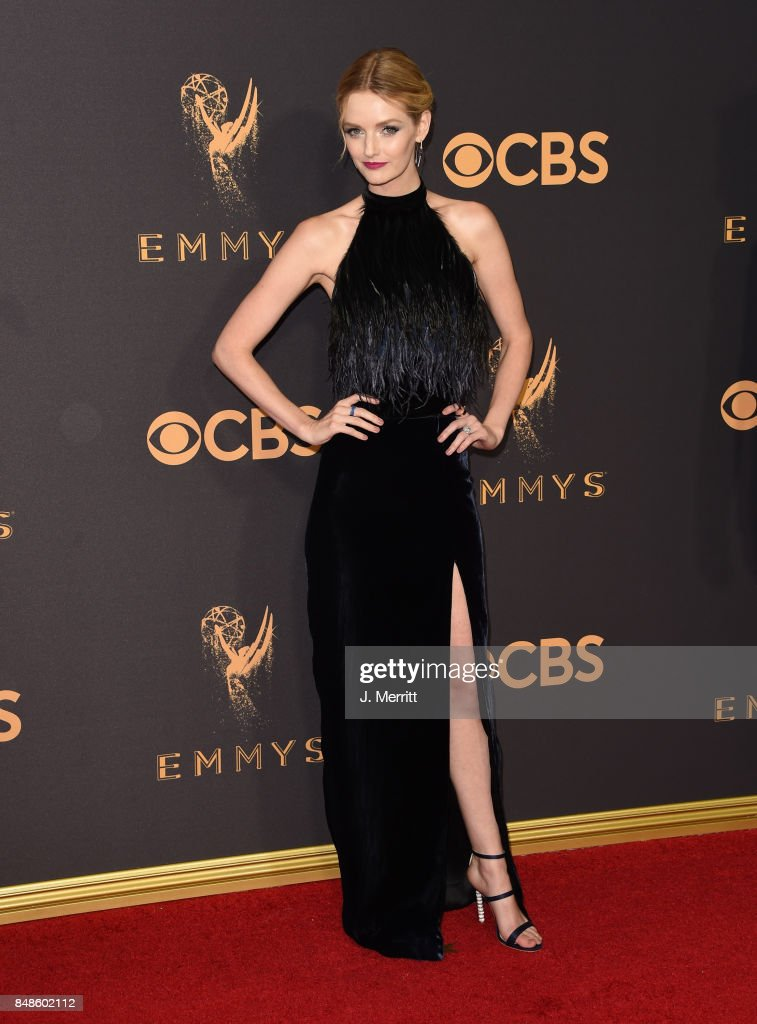 Lydia Hearst attends the 69th Annual Primetime Emmy Awards at Microsoft Theater on September 17, 2017 in Los Angeles, California.
