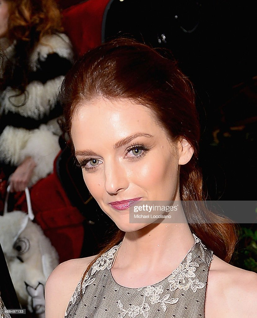 <a gi-track='captionPersonalityLinkClicked' href=/galleries/search?phrase=Lydia+Hearst&family=editorial&specificpeople=221723 ng-click='$event.stopPropagation()'>Lydia Hearst</a> attends the alice + olivia by Stacey Bendet Fall 2014 presentation during Mercedes-Benz Fashion Week Fall 2014 at The McKittrick Hotel on February 10, 2014 in New York City.