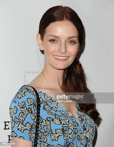 Lydia Hearst attends the Elizabeth Glaser Pediatric AIDS Foundation's 26th A Time For Heroes family festival at Smashbox Studios on October 25 2015...