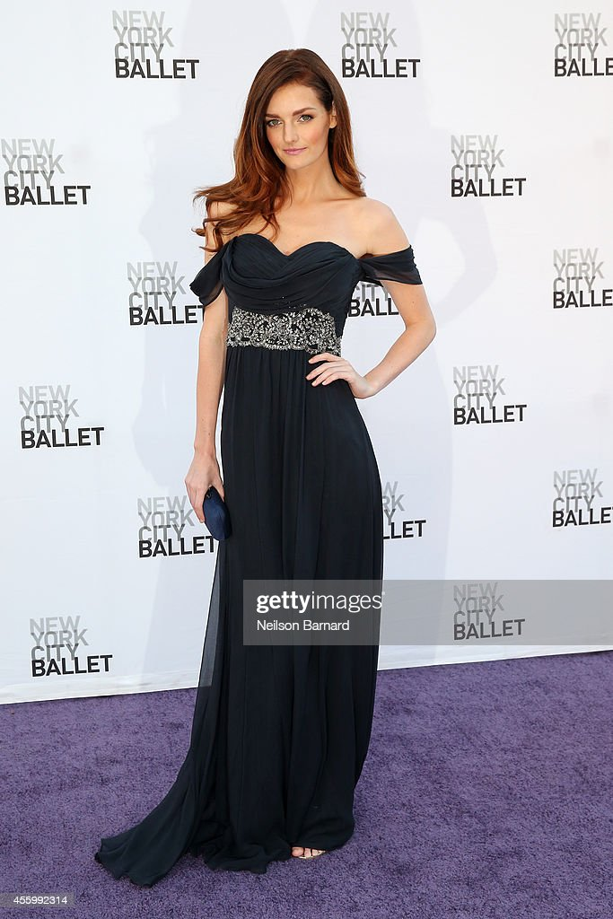 Lydia Hearst attends the New York City Ballet 2014 Fall Gala at David H Koch Theater at Lincoln Center on September 23 2014 in New York City