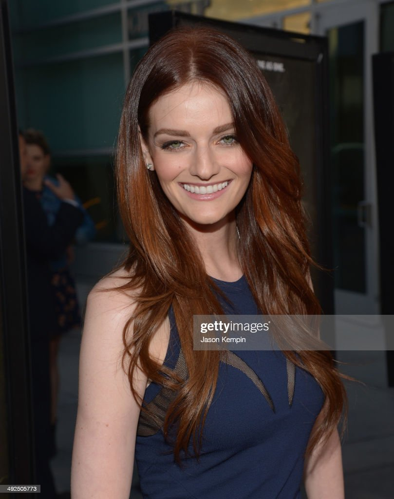 Lydia Hearst attends the premiere of 'The Sacrament' at ArcLight Cinemas on May 20 2014 in Hollywood California