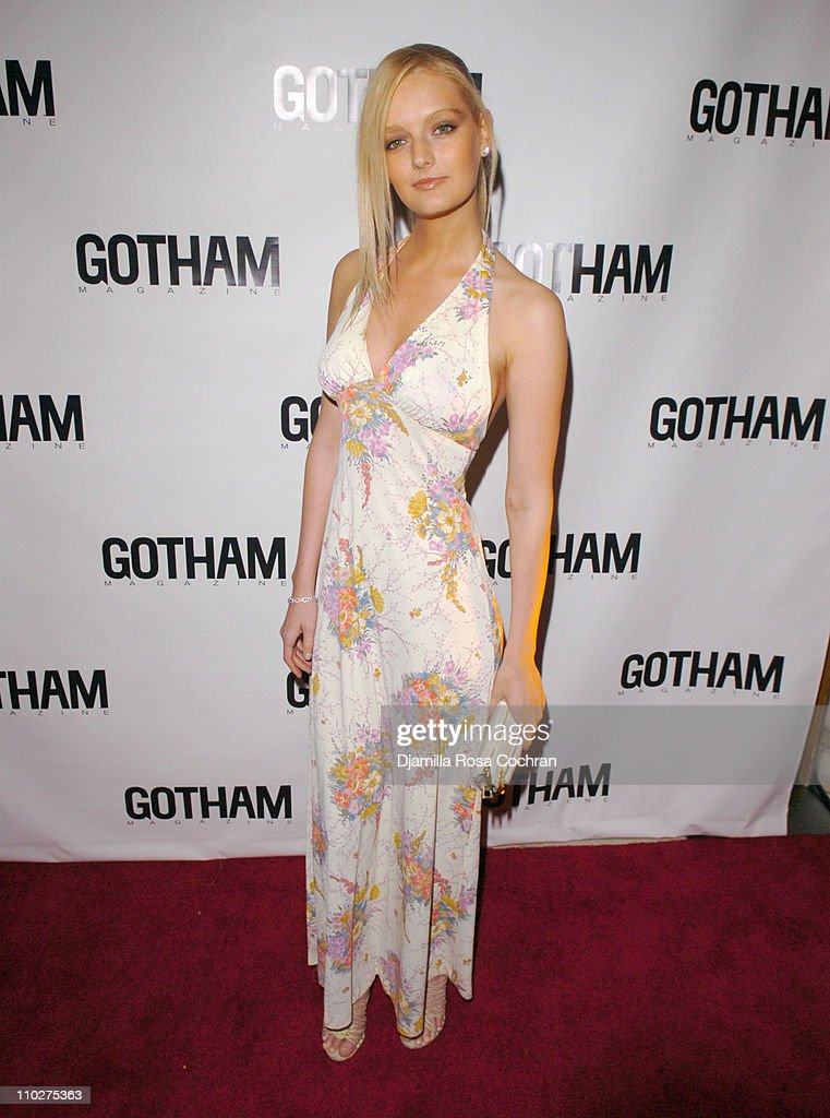 Lydia Hearst during Gotham Magazine's Sixth Annual Gala with Hosts Rudy and Judith Giuliani at Capitale in New York City New York United States