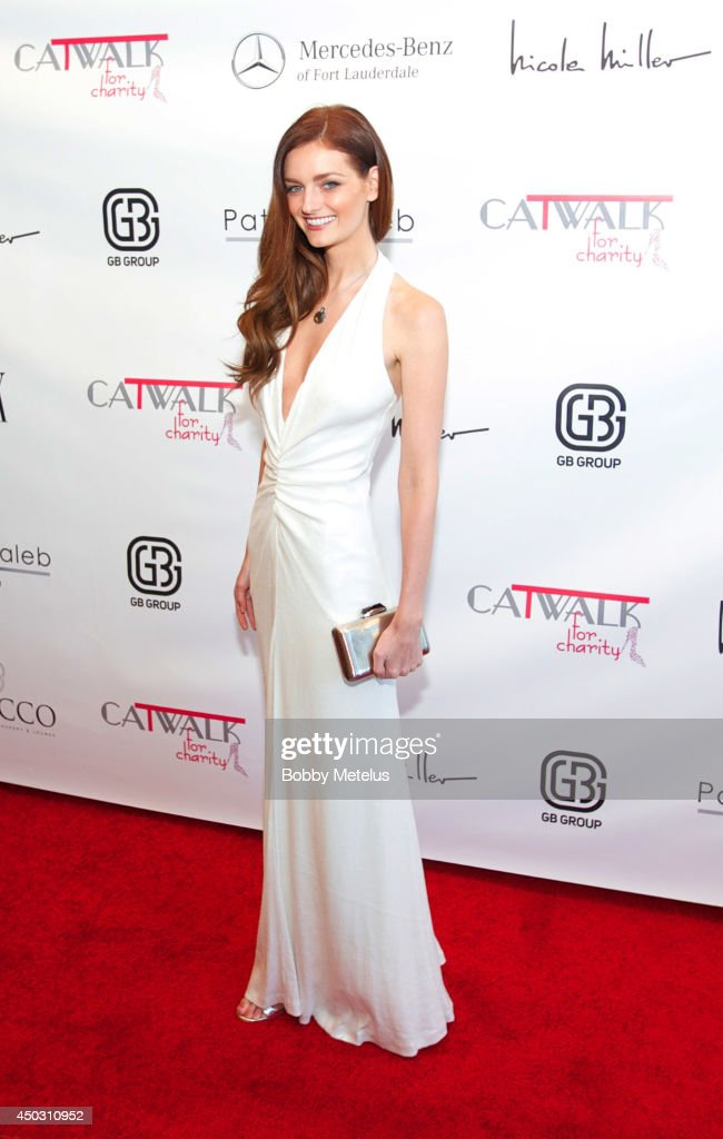 Lydia Hearst host the Catwalk for Charity 2014 event at JW Marriott Marquis on June 8, 2014 in Miami, Florida.
