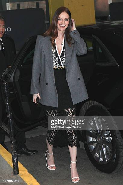 Lydia Hearst seen out and about on November 17 2015 in New York City