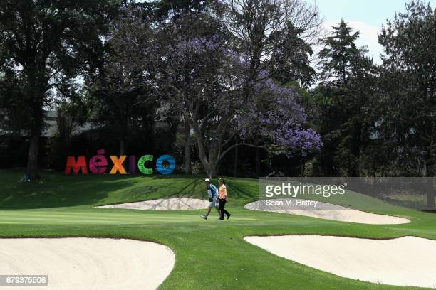 Lydia Ko of New Zealand approaches the eighteenth green during the second round of the Citibanamex Lorena Ochoa Match Play Presented by Aeromexico...