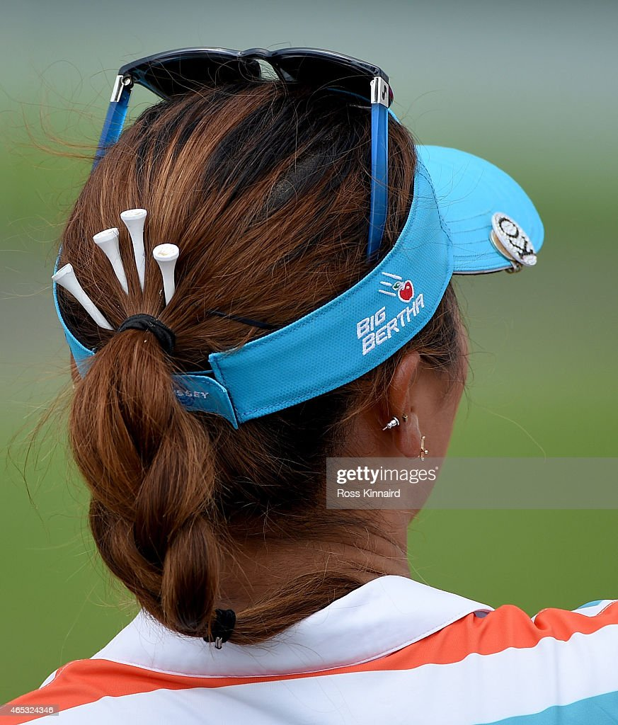 Lydia Ko of New Zealand on the par four 5th holel during the second round of the HSBC Women's Champions at the Sentosa Golf Club on March 6 2015 in...