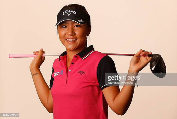 Lydia Ko of New Zealand poses for a portrait ahead of the LPGA Founders Cup at Wildfire Golf Club on March 18 2015 in Phoenix Arizona