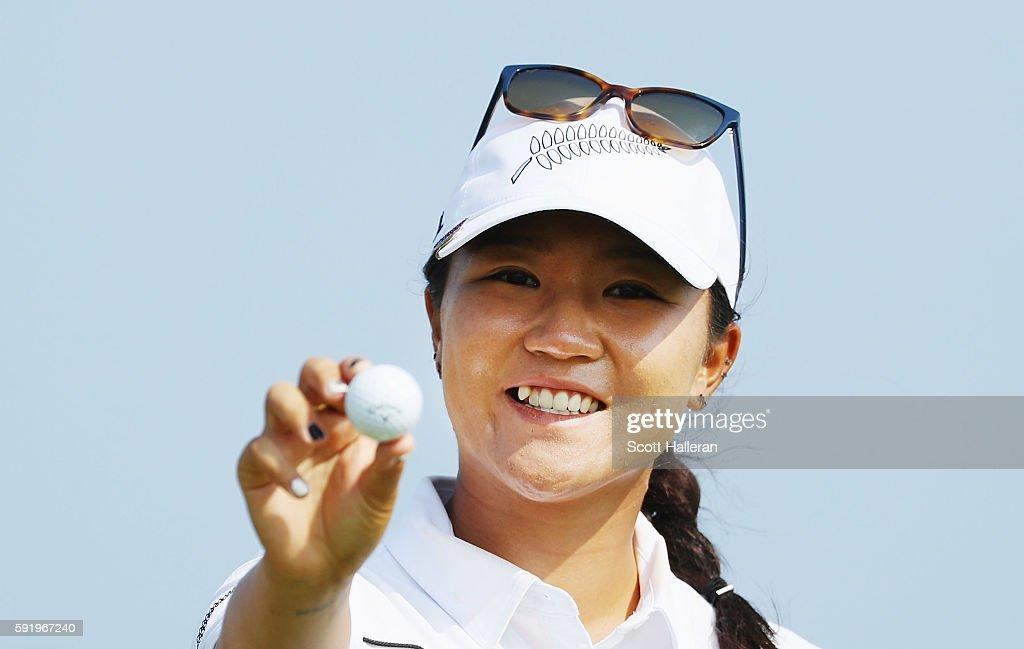 Golf - Olympics: Day 14