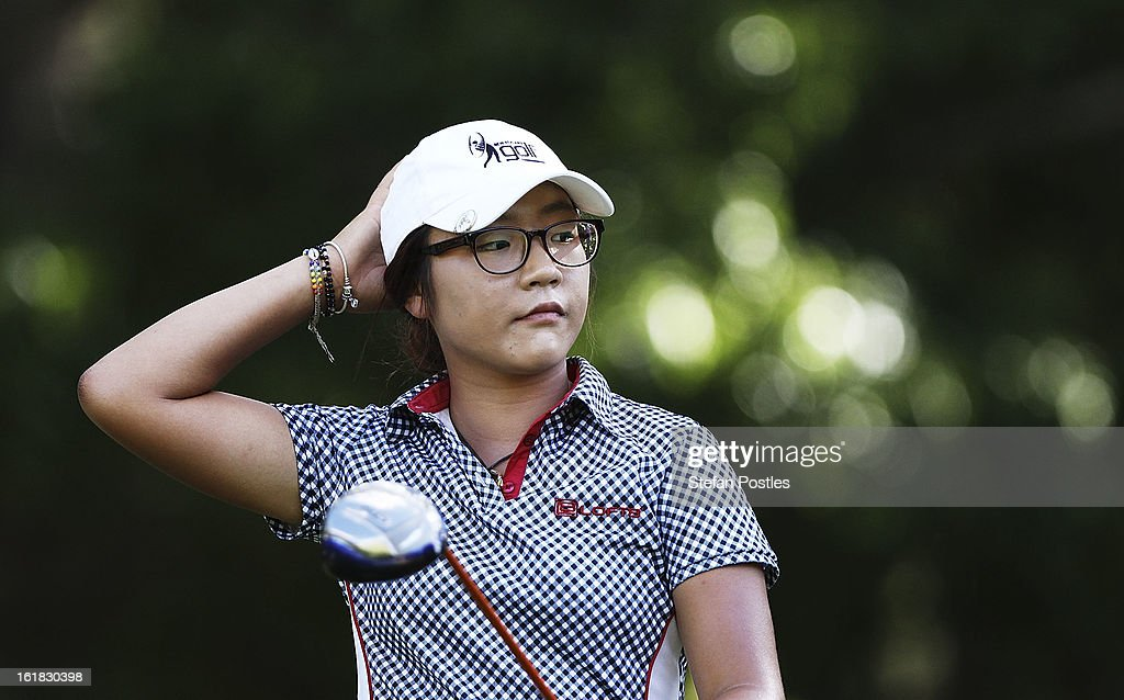 Lydia Ko of New Zealand walks up the fairway of the 15th hole during day four of the ISPS Handa Australian Open at Royal Canberra Golf Club on February 17, 2013 in Canberra, Australia.