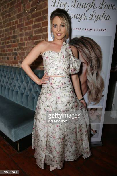 Lydia Rose Bright at the release of her new book' Live Laugh Love Always Lydia' at The Dead Dolls House in Islington on June 13 2017 in London England