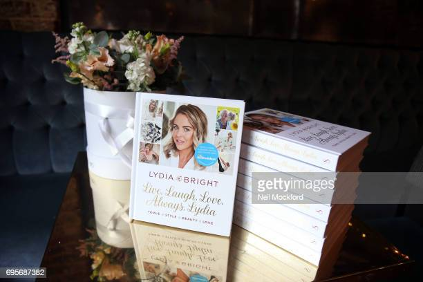 Lydia Rose Bright celebrates the release of her new book' Live Laugh Love Always Lydia' at The Dead Dolls House in Islington on June 13 2017 in...