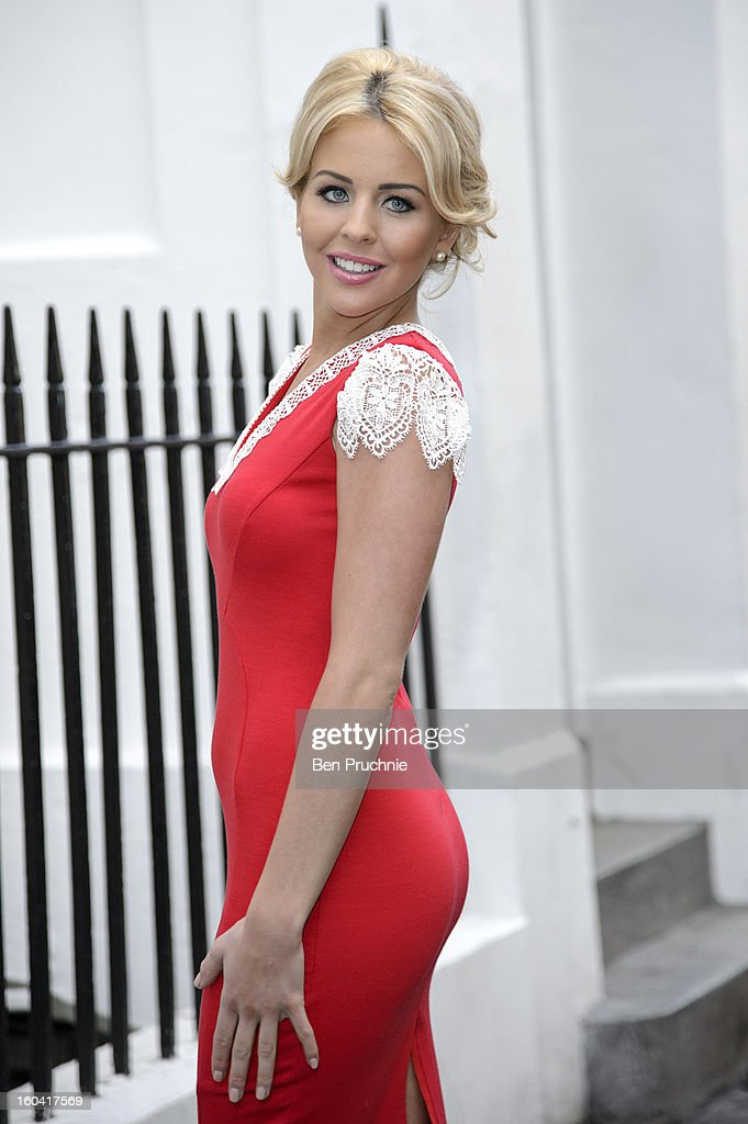 Lydia Rose Bright sighted in Soho on January 31, 2013 in London, England.
