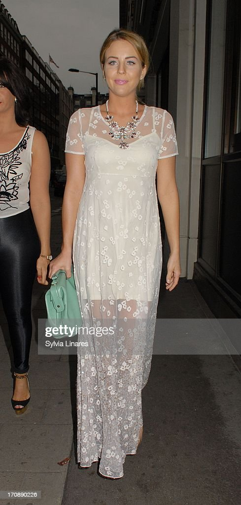Lydia Rose Bright sighting at May Fair Hotel on June 19, 2013 in London, England.