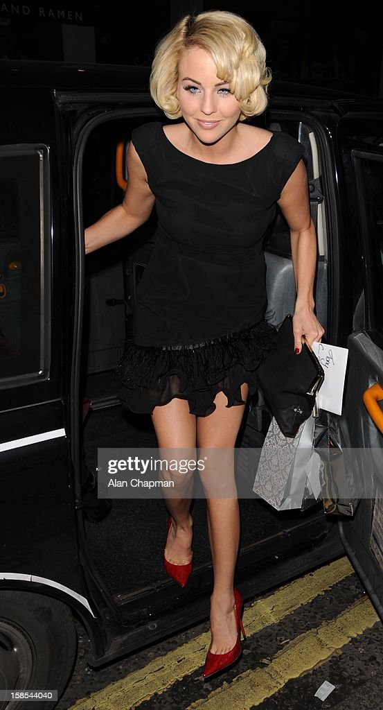 Lydia Rose Bright sighting at the Groucho Club on December 18, 2012 in London, England.