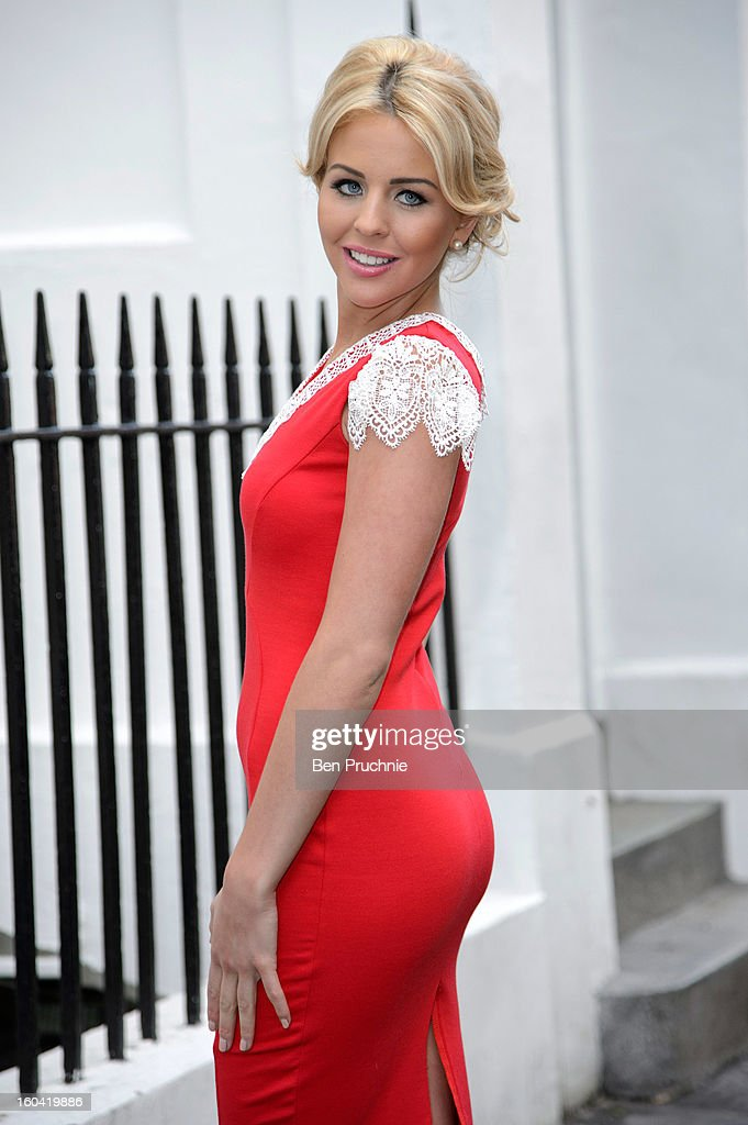 Lydia Rose Bright unveils her Spring/Summer 2013 collection from her womenswear label at The House of St Barnabas on January 31, 2013 in London, England.