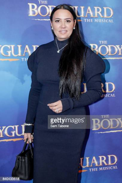 Lydia Schiavello during a production media call for The Bodyguard at Regent Theatre on August 29 2017 in Melbourne Australia