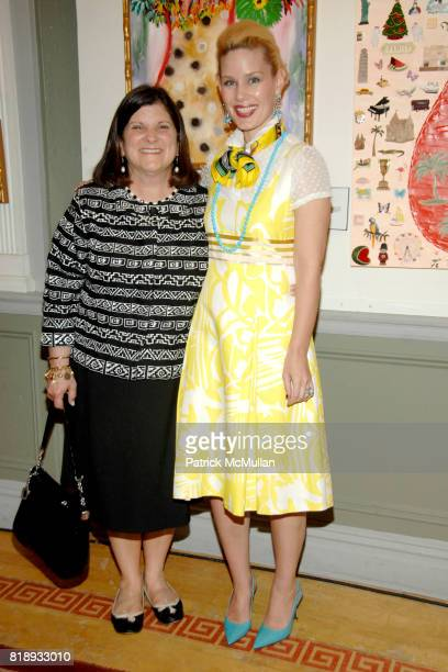 Lydia Spinelli and MichelleMarie Heinemann attend MICHELLEMARIE HEINEMANN and TERRI LINDVALL'S Lecture and Private Dinner to benefit the YORKVILLE...