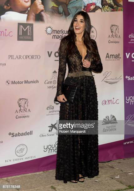 Lydia Torrent poses during a photocall for the 'Apuesta Por Ellas' charity event on November 16 2017 in Sant Cugat del Valles Spain