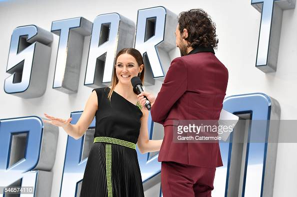 Lydia Wilson attends the UK Premiere of Paramount Pictures 'Star Trek Beyond' at the Empire Leicester Square on July 12 2016 in London England