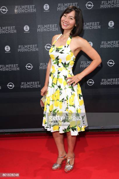Lydie Dietl wife of David Dietl attends the premiere of the movie 'Ella's Baby' during the film festival Munich at Gloria Palast on June 26 2017 in...
