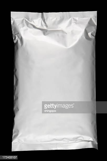 Lying aluminium foil bag