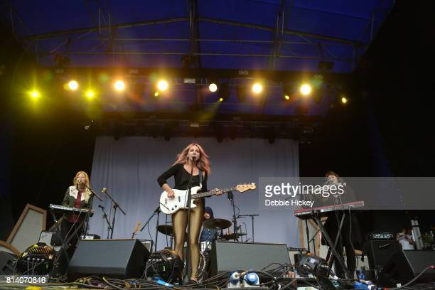 Lyla Foy performing live on stage at Iveagh Gardens on July 13 2017 in Dublin Ireland