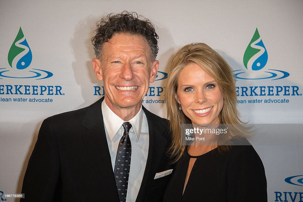 <a gi-track='captionPersonalityLinkClicked' href=/galleries/search?phrase=Lyle+Lovett&family=editorial&specificpeople=213855 ng-click='$event.stopPropagation()'>Lyle Lovett</a> and Actress <a gi-track='captionPersonalityLinkClicked' href=/galleries/search?phrase=Cheryl+Hines&family=editorial&specificpeople=209249 ng-click='$event.stopPropagation()'>Cheryl Hines</a> attend the 2013 Riverkeeper's Fishermen's Ball at Pier 60 on April 16, 2013 in New York City.