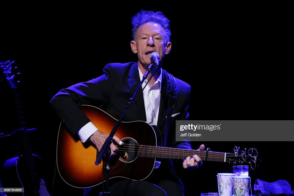 Vince Gill And Lyle Lovett Perform At Fred Kavli Theatre