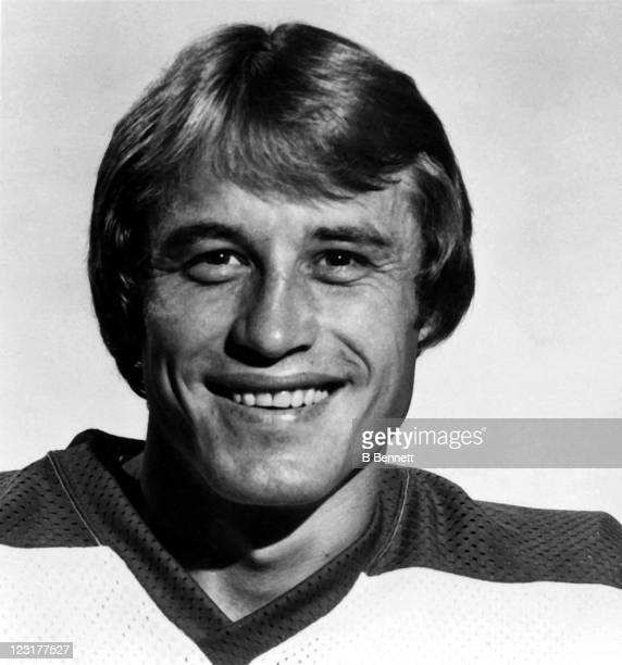Lyle Moffat of the Winnipeg Jets poses for a portrait in September 1978 in Winnipeg Manitoba Canada