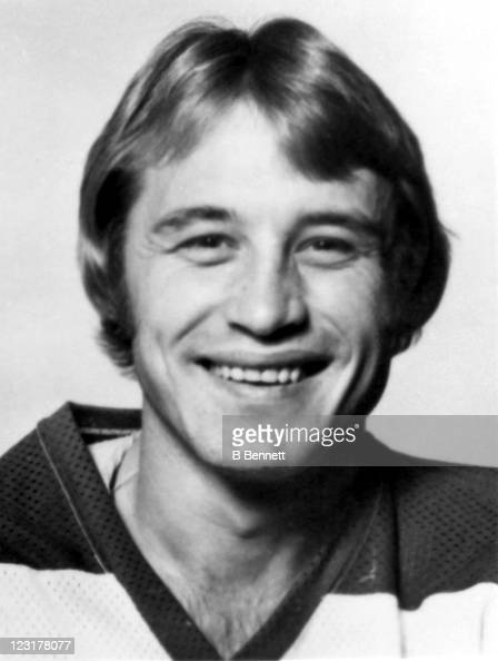 Lyle Moffat of the Winnipeg Jets poses for a portrait in September 1976 in Winnipeg Manitoba Canada