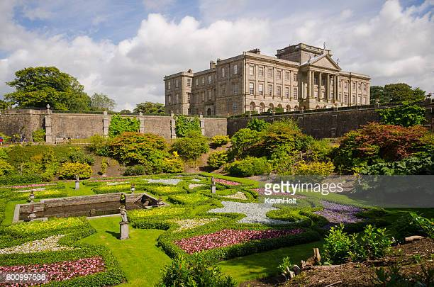Lyme Park gardens,Cheshire.