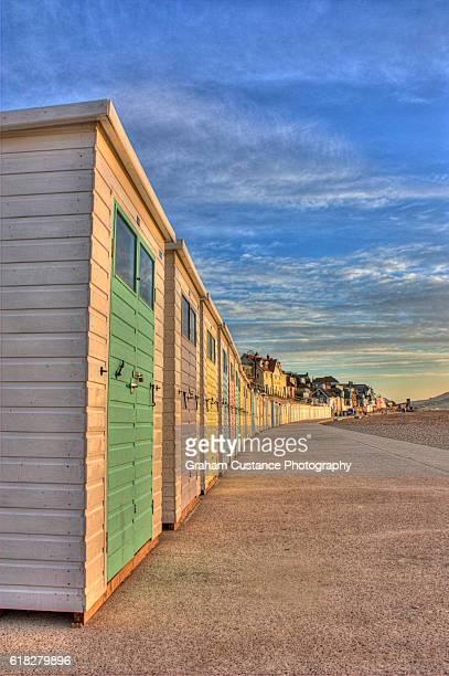 Lyme Regis Beach Huts