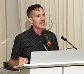 Lymphatic Education and Research Network Executive Director William Repicci speaks at Academy AwardWinner Kathy Bates Hosts Reception On Eve Of...