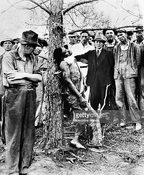 Lynching Of A Black Man Accused Of Rape In Royston Georgia Around 19351940