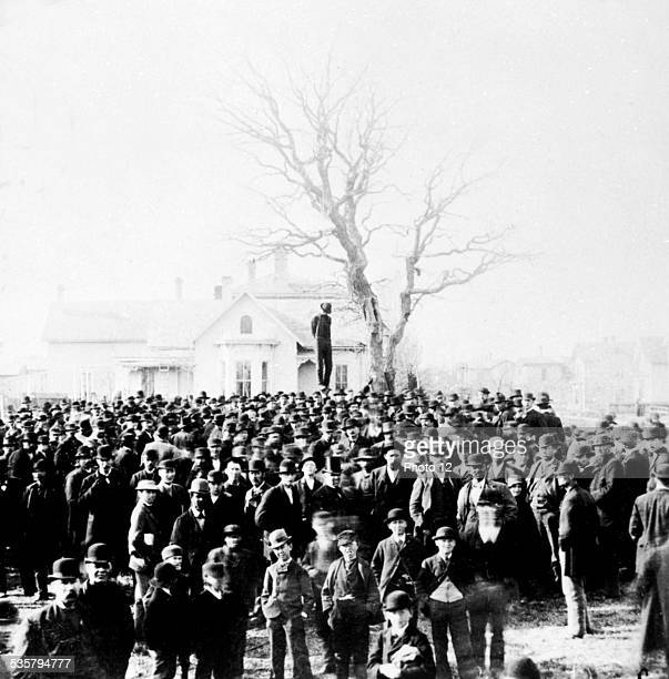 Lynching of a black man United States Washington Library of Congress