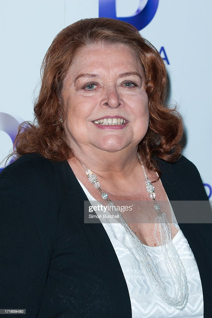 Lynda Baron attends the launch of the new UKTV channel 'Drama' on June 27, 2013 in London, England.