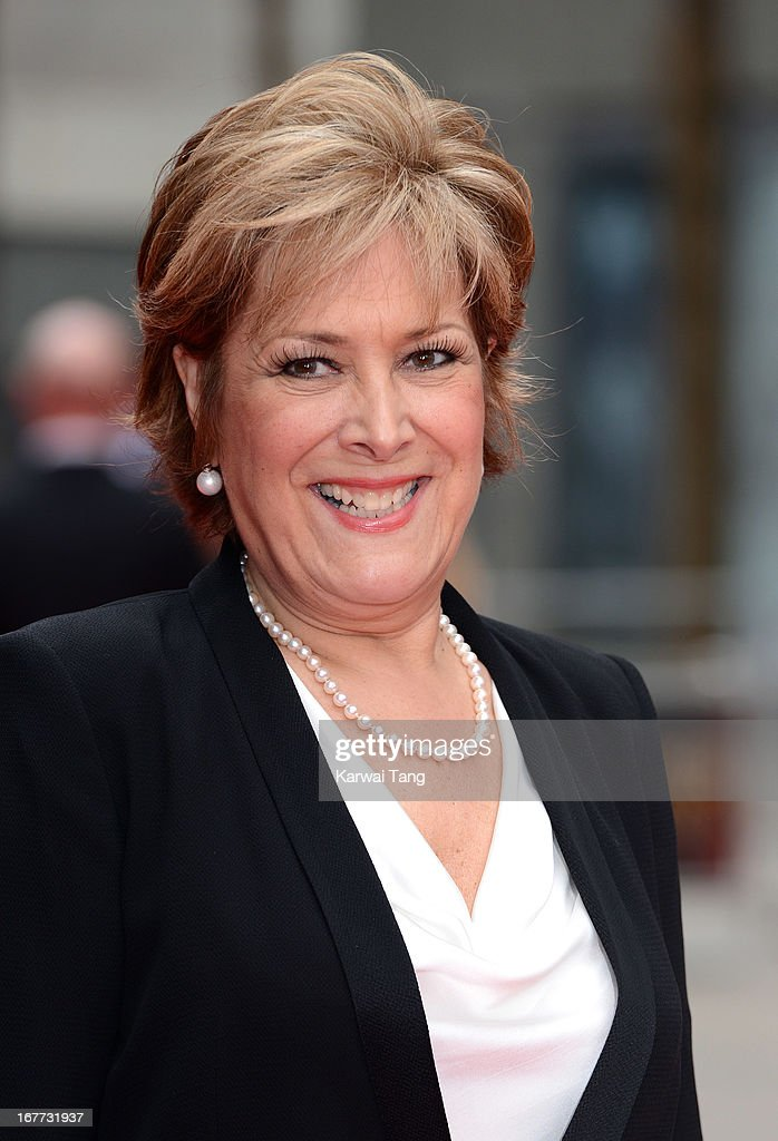 Lynda Bellingham attends The Laurence Olivier Awards at The Royal Opera House on April 28, 2013 in London, England.