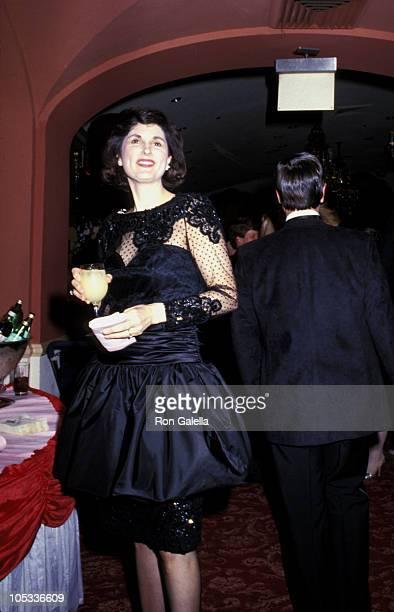 Lynda Bird Johnson during 1987 Pre Party For The International Debutante Ball at St Regis Hotel in New York City New York United States