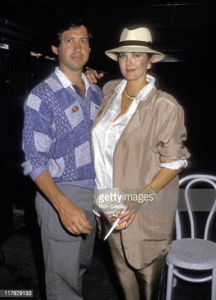 Lynda Carter and Husband Robert Altman during 1987 US Open Sightings at Flushing Meadows Park in Queens New York United States