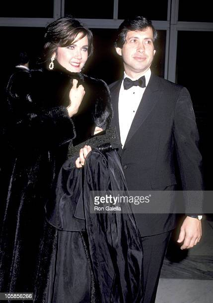 Lynda Carter and Husband Robert Altman during 6th Annual Kennedy Center Honors Gala Honoring Elia Kazan at Kennedy Center in Washington DC United...