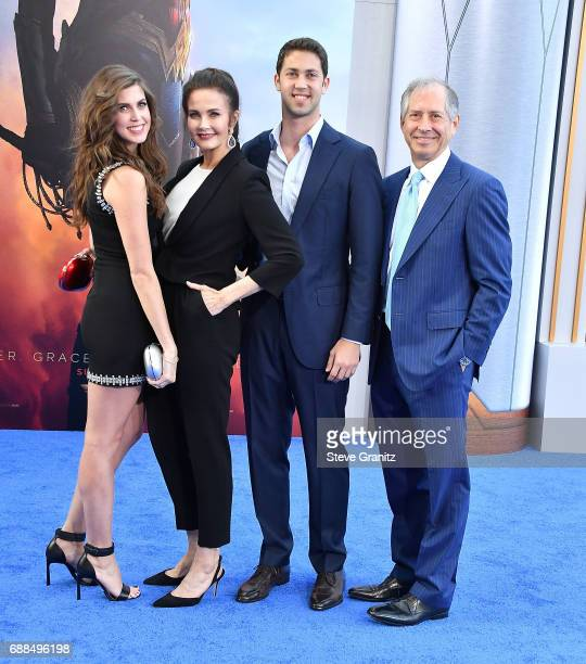Lynda Carter arrives at the Premiere Of Warner Bros Pictures' 'Wonder Woman' at the Pantages Theatre on May 25 2017 in Hollywood California